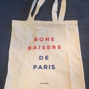 BUNDLE - 5 Sezane Canvas Tote Bags